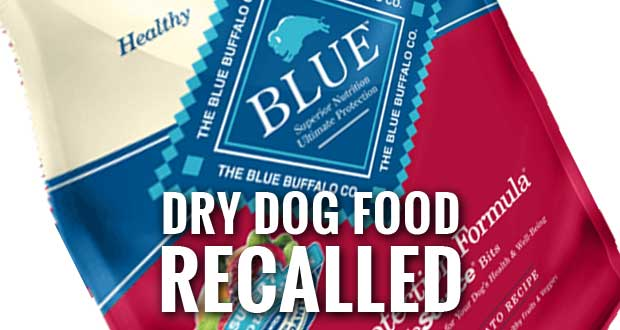 Blue Buffalo Dry Dog Food Recalled Due To Possible Mold