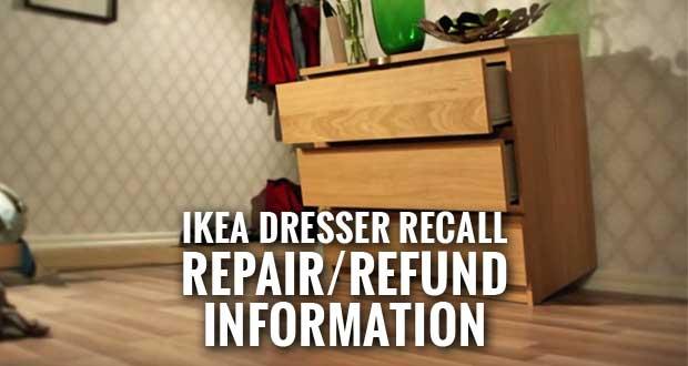 29 Million IKEA Dressers Recalled after Children's Deaths
