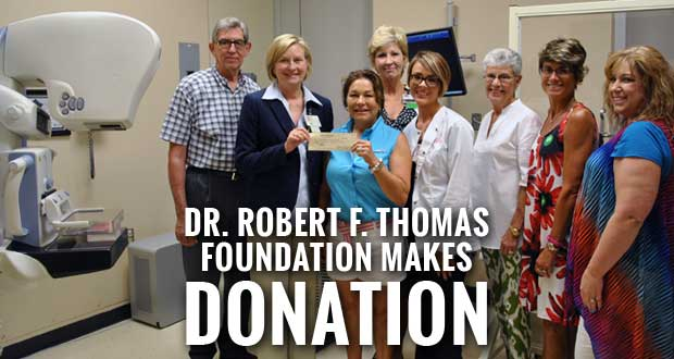 LeConte Breast Center receives $50K Donation for 3D Mammography Unit