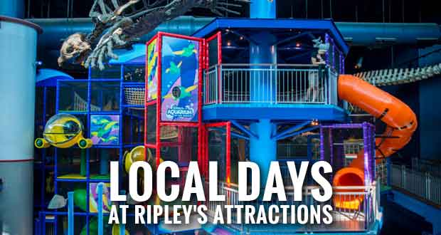See the New Play Center at Ripley's Aquarium during Local Days