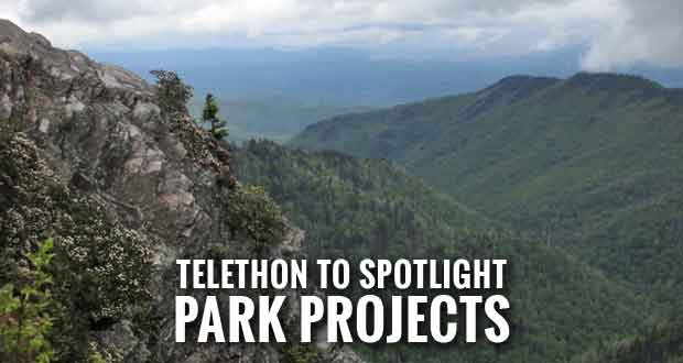 Friends Across the Mountains Telethon Fundraising for Smokies Projects