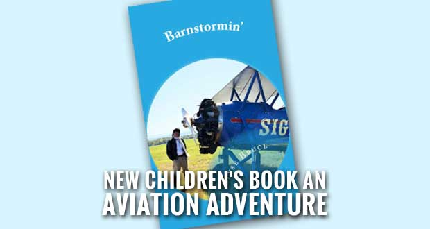 Kids Invited to Missy Barrett Adventure Series Book Launch at Local Airport