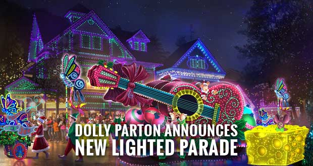 $2.5M Parade of Many Colors to debut at Dollywood's Smoky Mountain Christmas