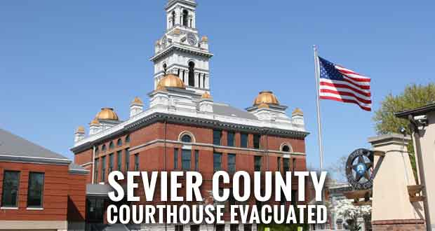 Bomb Threat Shuts Down Sevier County Courthouse