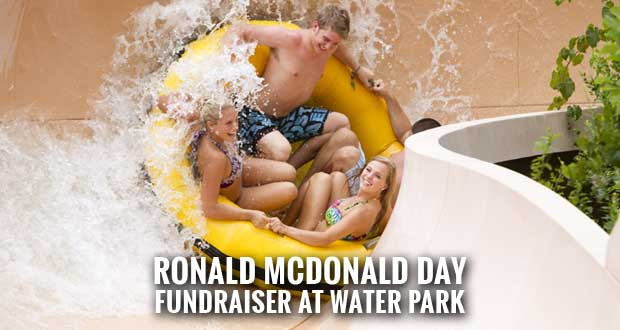Get 50% Off Dollywood's Splash Country Tickets and Support Ronald McDonald House