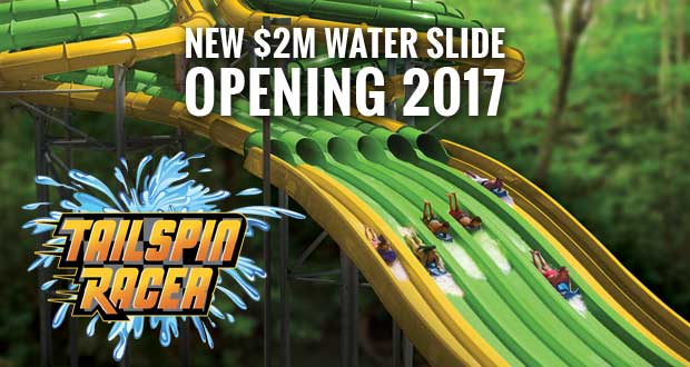 Dollywood's Splash Country adding Tailspin Racer Attraction