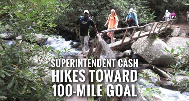 Smokies Superintendent and Gatlinburg Mayor Invite Public on Trail Hike