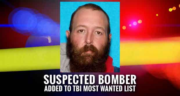 Mitchell Oakes Wanted for Placing Bomb Outside Tennessee Nursing Home