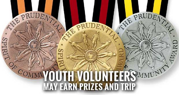 Prudential Spirit of Community Awards Searching for Tennessee's Top Youth Volunteers