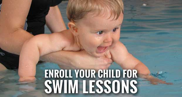 Fall Swim Lessons Offered at the Sevierville Community Center