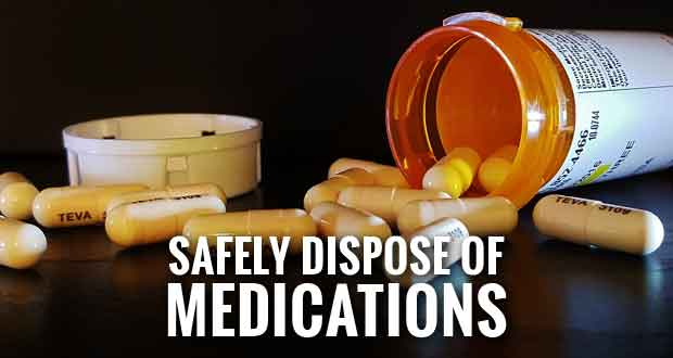 Local Law Enforcement Participates in National Drug Take Back Day