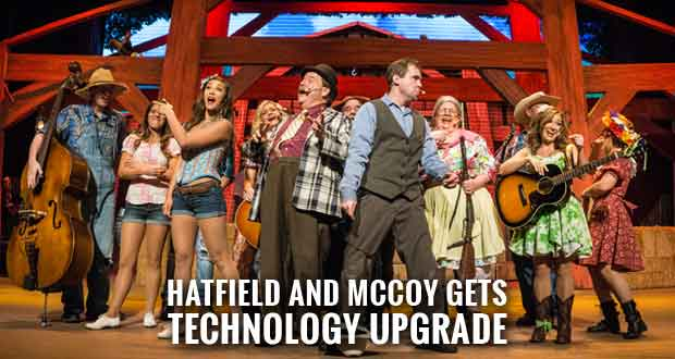 Hatfield and McCoy Dinner Feud adds $500K 3D LED Video Wall
