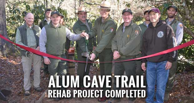 Smokies Celebrates Alum Cave Trail Reopening