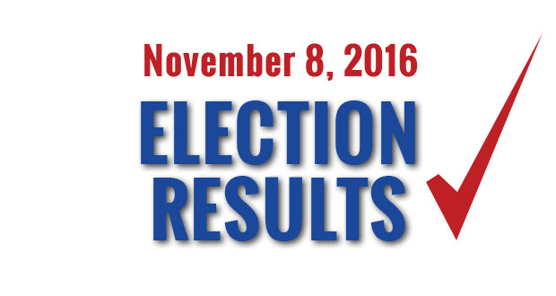 November 2016 Elections  >> Sevier County Election Results November 8 2016