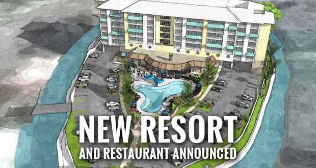 Margaritaville Resort in the Smokies, LandShark Restaurant Coming to Gatlinburg