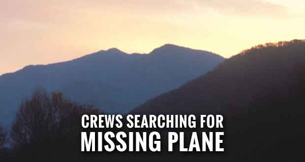 Plane with 3 Aboard Missing in Smoky Mountains