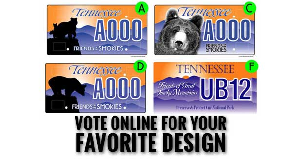 Smokies License Plates Make National Park Projects Possible