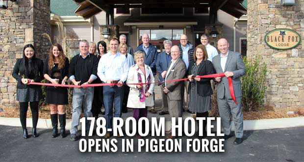 Black Fox Lodge in Pigeon Forge Celebrates Grand Opening