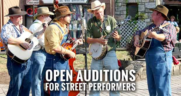 Talented Acts Sought for Summer Smoky Mountain Tunes & Tales