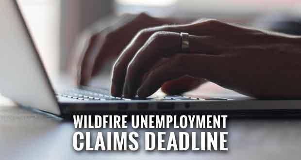 Registration Deadline for Disaster Unemployment Benefits is Monday