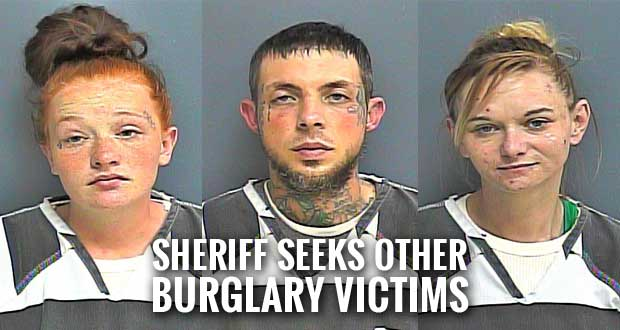Trio Arrested after Allegedly Burglarizing Home, Shooting at Witness