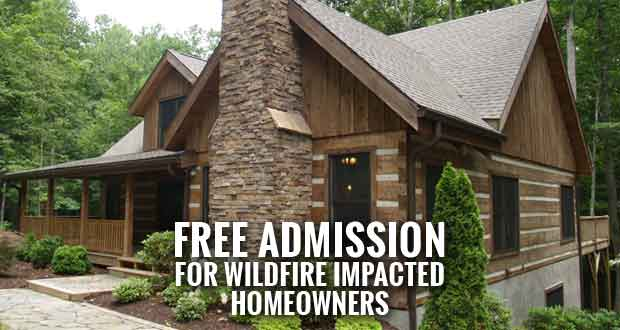 Log & Timber Home Show in Sevierville a Resource for Those Rebuilding after Wildfires