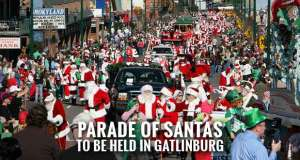 Santa Family Reunion Coming to Gatlinburg
