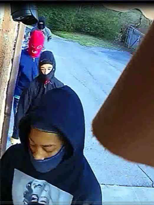 Sevier County Home Invasion Robbery Suspects