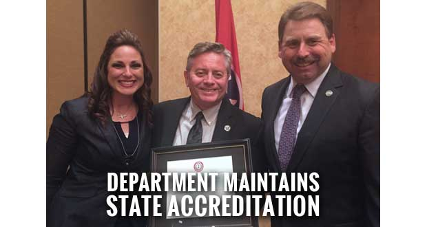 Sevier County Sheriff's Office Earns Certificate of Meritorious Accreditation