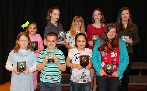Sevier County 4-H Baking Winners