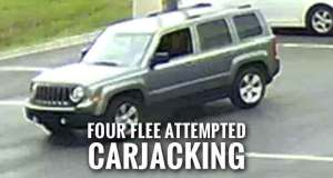 Police Searching for Seymour Carjacking Suspects