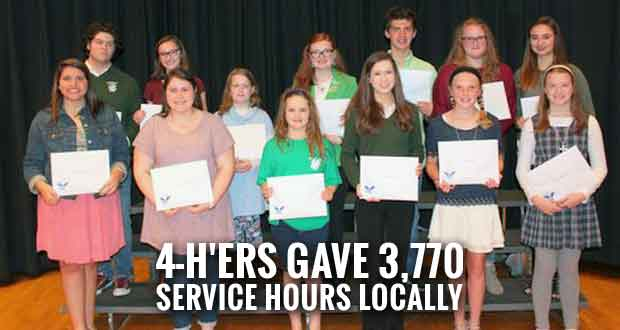 Sevier County Kids Earn President's Volunteer Service Award