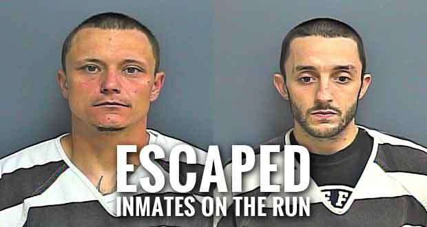Two Inmates Escape from Sevier County Jail
