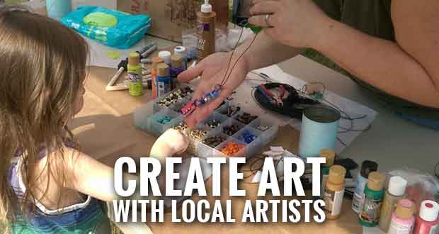 Make It & Take It Art Events Offered at Sevierville Farmers Market