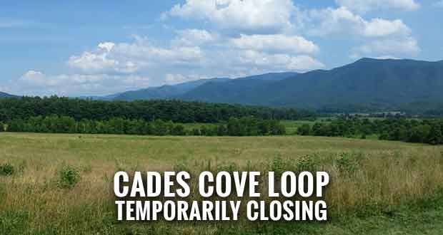 Park Announces Closure of Cades Cove Loop Road for Maintenance