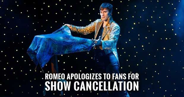 Magic Beyond Belief Darren Romeo Show Reopens after Incident