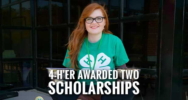 4-H Career Earns Two Scholarships for Pigeon Forge Teen