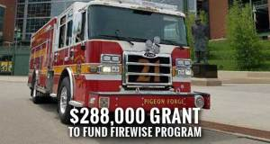 Pigeon Forge Fire Department Gets Fire Prevention Grant from FEMA