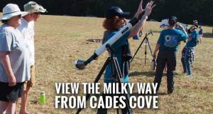 Park, Astronomical Society Host Stargazing Event at Cades Cove