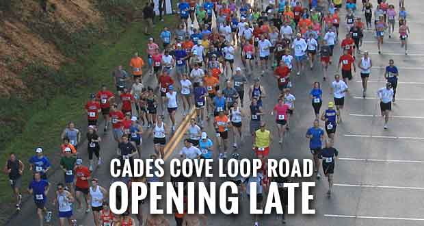 Cades Cove Loop Lope Closing Cades Cove to Visitors During Event