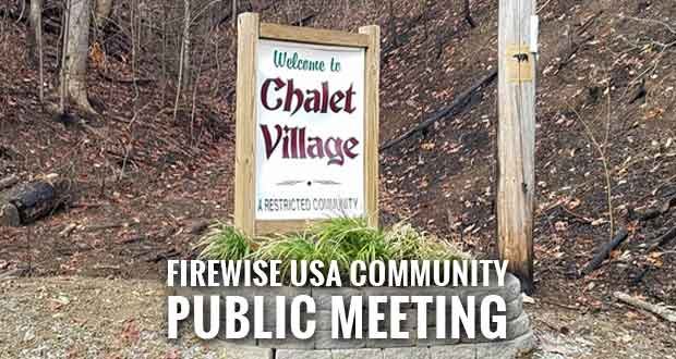 Gatlinburg's Chalet Village Aims to be Firewise Community after Wildfires