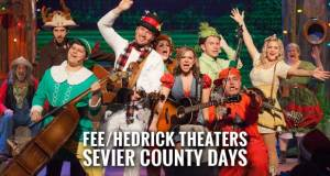 See New Christmas Shows at Fee/Hedrick Theaters During Sevier County Days