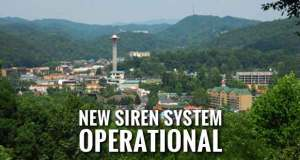 Gatlinburg to Test New Outdoor Warning Siren System