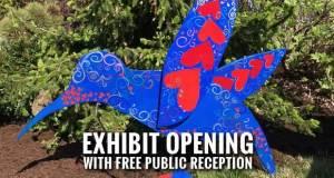 28 Local Artists Participate in UT Gardens Hummingbird Art Exhibit