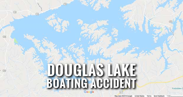 Four Injured as Boat Runs Aground at Douglas Lake