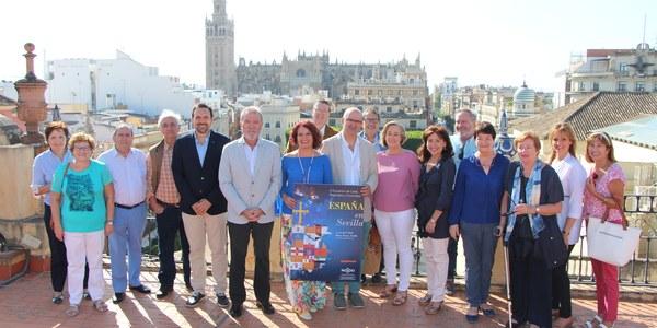 Cultura, gastronomía y solidaridad componen el calendario de actividades del X Encuentro de Casas Regionales y Provinciales de Sevilla