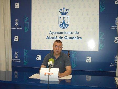 El portavoz del PP, Javier Jiménez