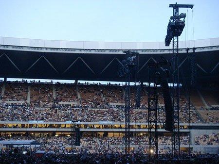 Hasta el mes de agosto, el Estadio Olímpico acogerá conciertos de Pitingo, Chambao, Macaco, Depeche Mode o Bruce Springsteen, entre otros/Lolo