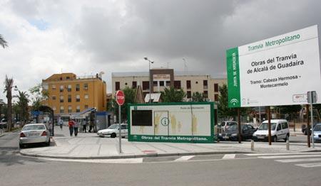 Las obras del primer tramo están afectando a la zona norte de la ciudad