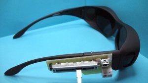 Estas gafas permiten filtrar la luz y mejorar la agudeza visual de personas con una visión reducida